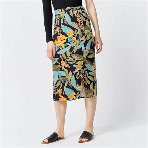 warehouse skirt tropical garden skirt warehouse