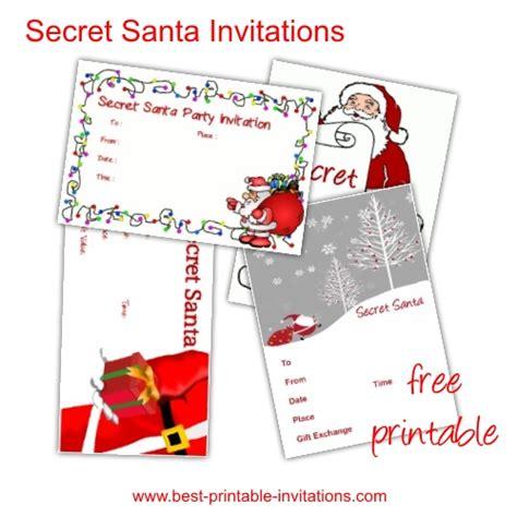 secret santa template secret santa gift exchange forms search results