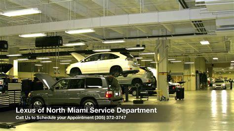 lexus of miami service department