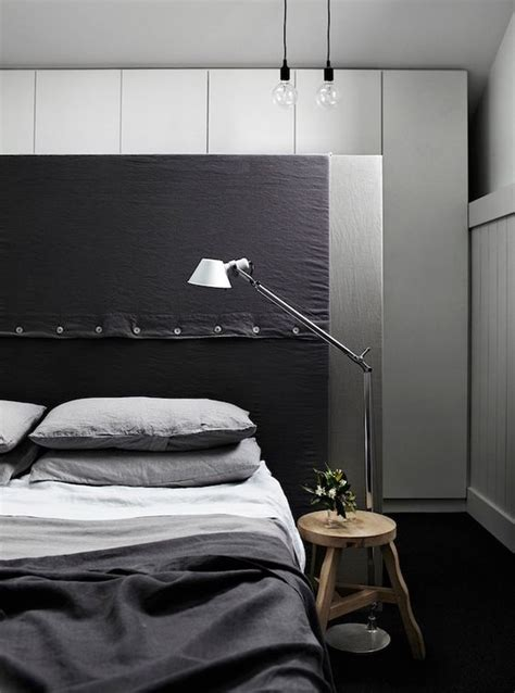 stylish masculine headboards   mans cave