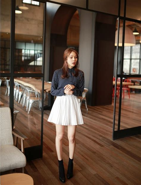 Rok Panjang Terbaru Rok 157 rok korea putih cantik model terbaru jual murah