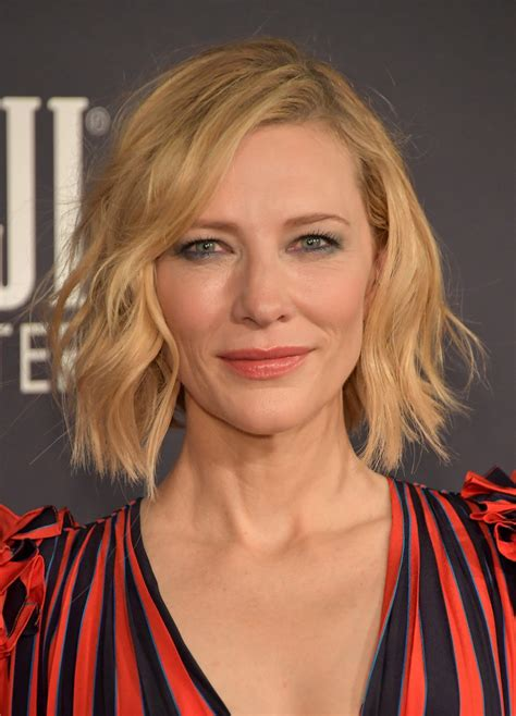 Get The Look Cate Blanchetts Feathered Tresses by Cate Blanchett Hair Looks Stylebistro