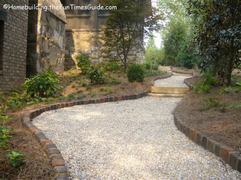 Landscape Edging Path Handmade Bricks Offer Instant Character As Landscape