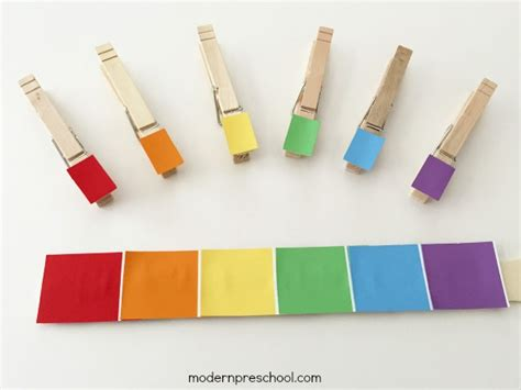 paint matching rainbow paint chip color match
