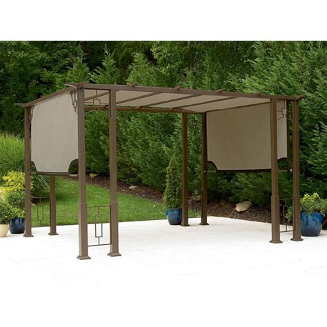 9 X 12 Patio Gazebo Garden Oasis Deluxe Pergola Replacement Canopy Garden Winds