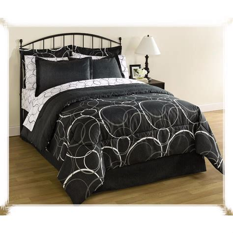 queen size bedding set 8 piece comforter sheets pillows