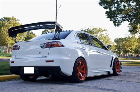 evo spoiler jdm evo wing catalogue evolutionm mitsubishi lancer
