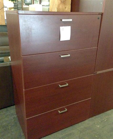 Lateral File Cabinet 4 Drawer Cherryman Series 4 Drawer Lateral File Cabinet Nashville Office Furniture