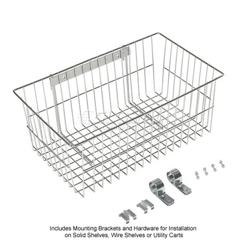 wire shelving accessories components chrome wire