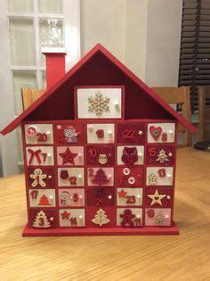 wooden advent calendar  cute doors diy projects