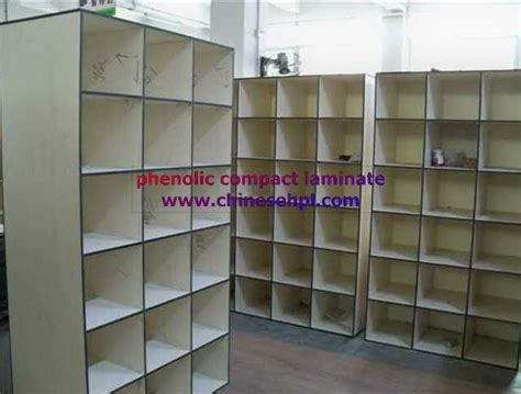 commercial shoe storage lijie phenolic compact waterproof commercial shoe racks