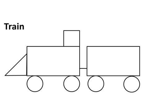 shape train pattern 20 best images about preschool trains on pinterest