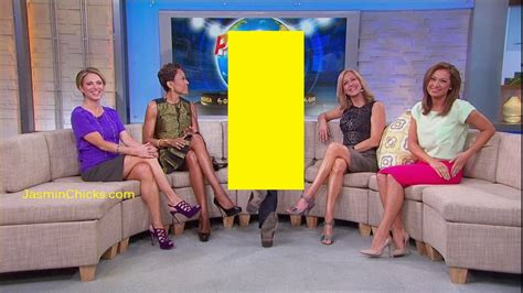 on gma shows ginger zee amy robach legs high heels women from tv pictures amy robach legs and high heels pics
