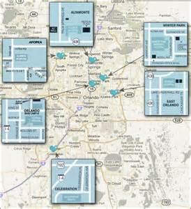 florida hospital orlando map locations around orlando for the center for sleep