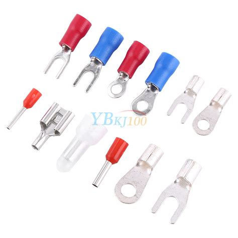 electrical wire connectors types 1000pcs 24 types insulated crimp terminals kit electrical