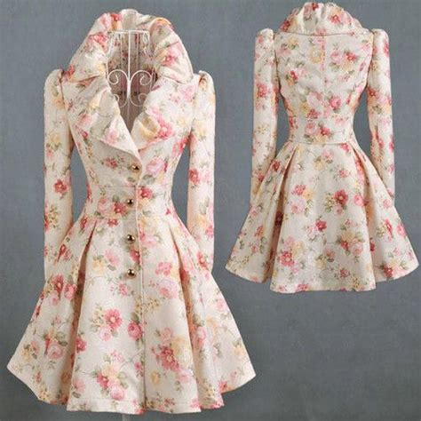 Vintage Swing Kleider by Vintage 50 S Style Swing Dress Floral Coat