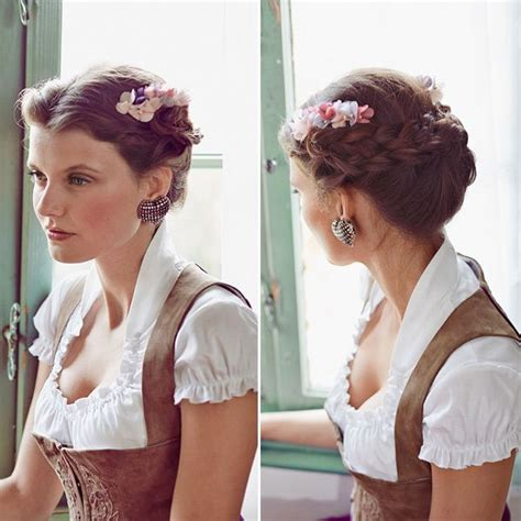 Hochzeitsfrisur Dirndl by Dirndl Frisuren Zum Nachstylen Inspiration And Link
