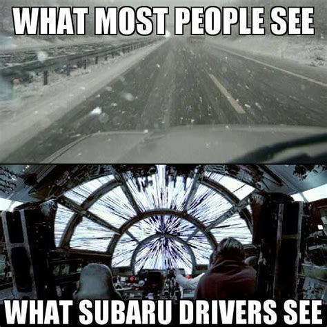 subaru winter meme subaru yah but i m still calling in when it sleets