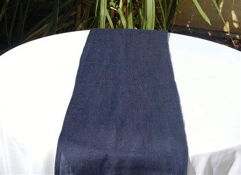 navy blue table runner 136 best images about burlap navy blue wedding on