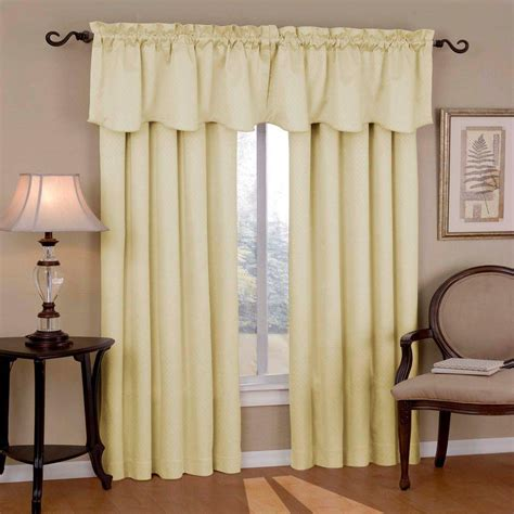 Ivory Blackout Curtains Eclipse Blackout Canova Blackout Ivory Curtain Panel 95 In Length 10299042x095ivy The Home Depot
