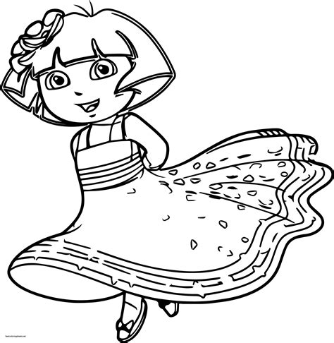 dora coloring pages nick jr unique dora coloring pages best coloring pages