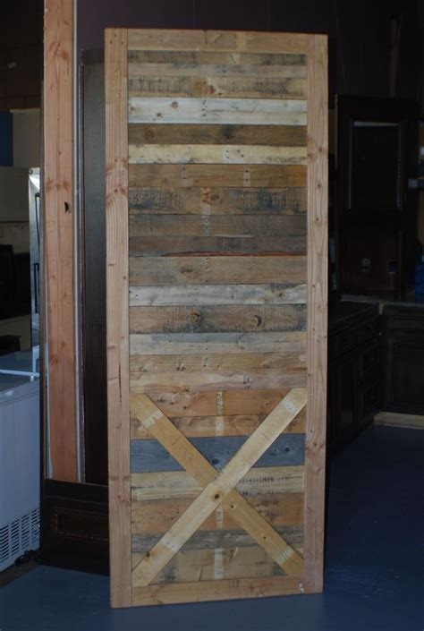 Rustic Sliding Barn Door With X Bracing Out Of Reclaimed Rustic Sliding Barn Doors
