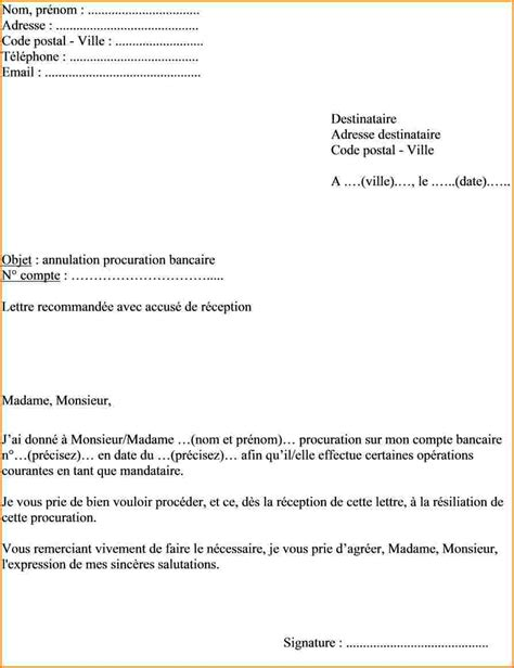 Exemple De Lettre De Procuration De Vote 4 Exemple Lettre De Procuration Lettre De Demission