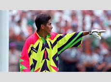 """Jorge Campos: """"I once heard a story that the coach thought ... Tottenham Shirts"""