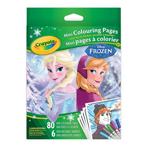 Frozen Crayola crayola mini colouring pages disney frozen crayola store