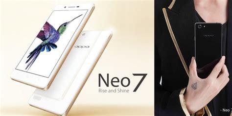 Hp Neo 7 Oppo Neo ini harga hp oppo neo 7 dengan processor 64 bit segiempat