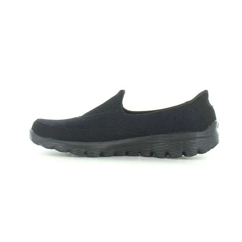skechers slip on athletic shoes skechers go walk 2 womens slip on walking shoe in black