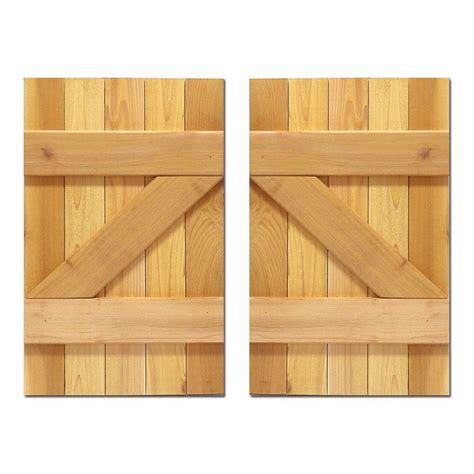 design craft millworks 15 in x 31 in board n batten