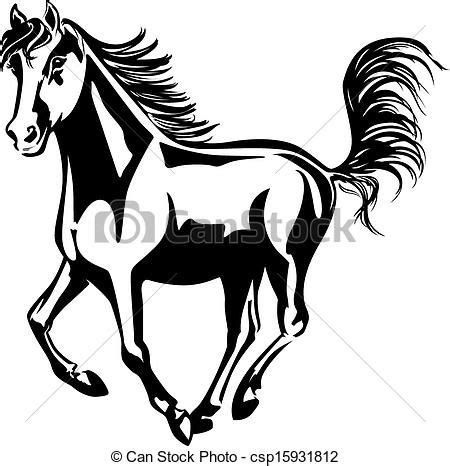 mustang horse drawing horse line drawings clip art mustang horse clip art