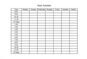 week work schedule template weekly work schedule template 8 free word excel pdf