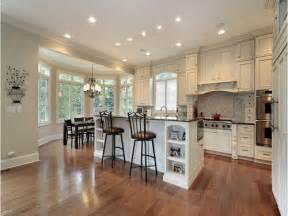 White Kitchen Cabinet Designs by The Best Material For Kitchen Flooring For Dark Cabinets