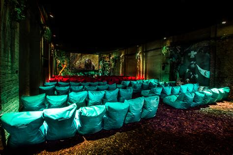 lost world immersive cinema from backyard cinema in south