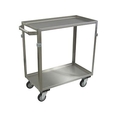 01g steel wheels item 18751 stainless steel cart 2 shelf