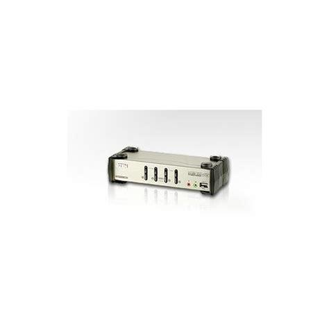 Lu Usb aten cs1734b 4 port lu usb kvm keyboard monitor mouse switch mikrofon ve hoparl 246 r