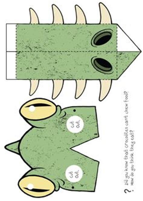 printable alligator mask printables on pinterest