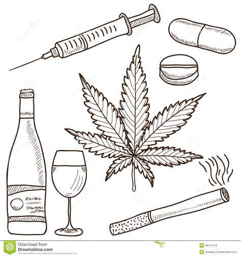 illustration of narcotics stock photography image 26174112