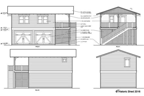 carriage house shed plans 1000 images about garage apartment plans on pinterest craftsman carriage house