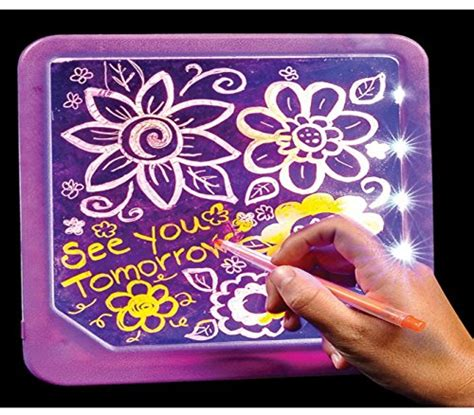 light up doodle playo led light up drawing board for drawing
