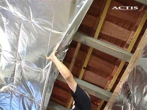 isolare il soffitto dall interno actis isolamento tetto dall interno
