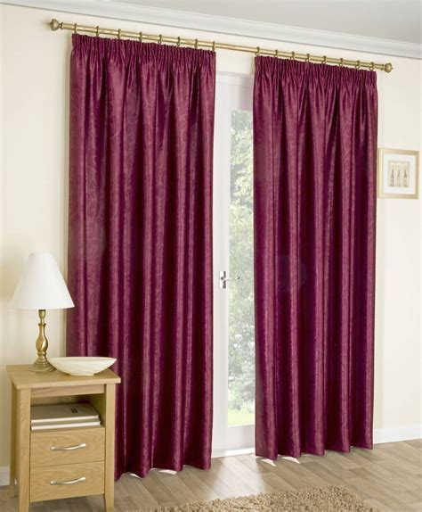 unlined curtains amari red unlined curtains with pencil pleat top net
