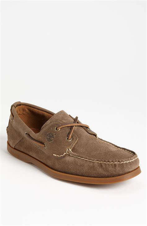 timberland boat shoes timberland earthkeepers heritage boat shoe in brown for