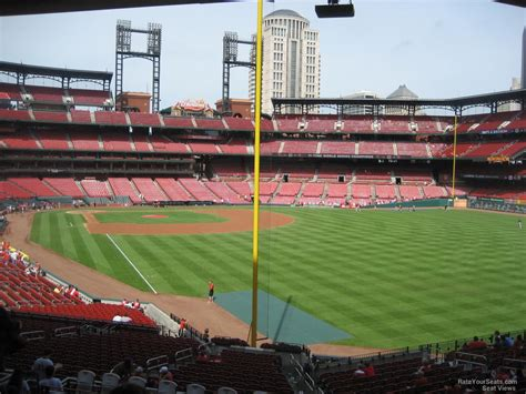 section 130 busch stadium busch stadium section 130 rateyourseats com