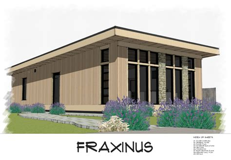 No 31 Fraxinus Modern Shed Roof Style House Plan Free Download Small House