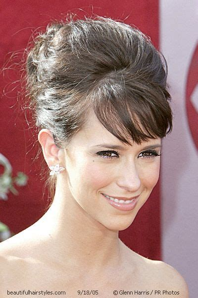 jennifer love hewitt updo hairstyles updos with bangs google search wedding hair