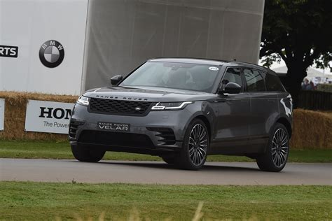 new range rover velar ride review at goodwood 2017 auto