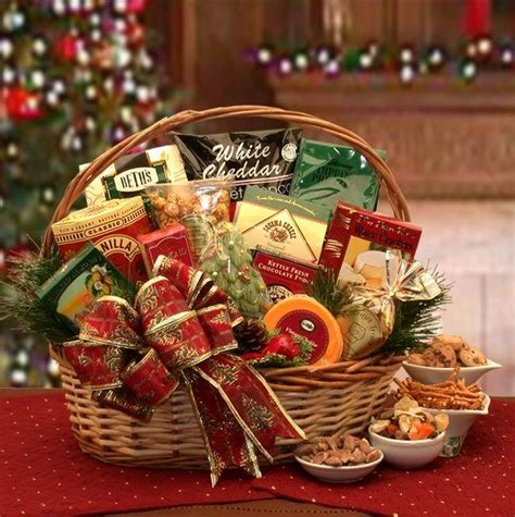the bountiful holiday gourmet gift basket currans flowers